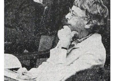Jean Perrett NMH 1976