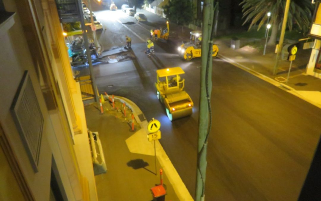 The most expensive 2.6km of road resurfaced again!